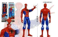 """Darmowa wysyłka amazing spider-man film spiderman ultra action figure zabawki retail box 12 """"30 cm hrfg106"""