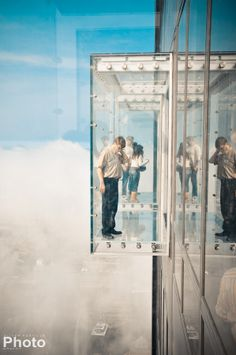 Chicago, IL ~ Willis Tower (Sears Tower)...Yep, I conquered my fear of heights and walked out on this bad boy!