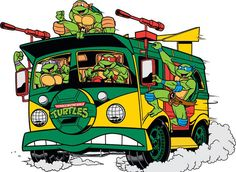 This 80s car is my personal favorite, because it was so awesome to watch in the cartoon TMNT. I think anybody would recognize it.