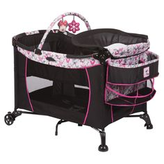 Fly Away Minnie Care Center™ Play Yard from Safety 1st .Kmart $99