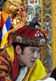 King of Bhutan, Jigme Khesar Namgyel Wangchuck.