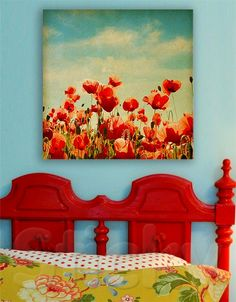 Canvas print FLOWERS by Sticky!!