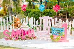 Teddy Bear Picnic in the Park themed birthday party via Kara's Party Ideas | KarasPartyIdeas.com (11)