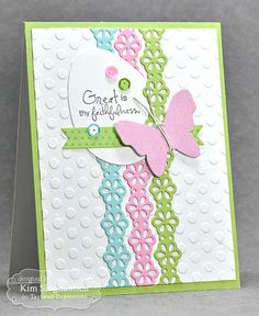 Joyful Creations with Kim: Taylored Expressions: Floral Eyelet Border die