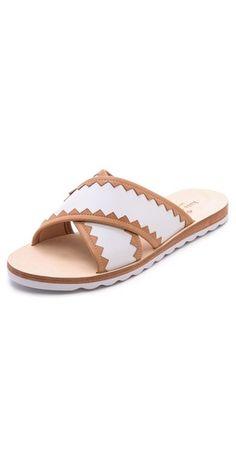 Kate Spade New York Aurora Cross Strap Sandals | SHOPBOP