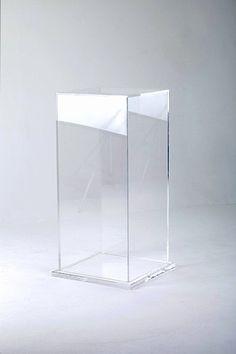 Perspex display pedestal acrylic display box, acrylic box, acrylic table, d Acrylic Furniture, Ikea Furniture, Metal Furniture, Display Boxes, Display Case, Display Pedestal, Loft Interiors, Acrylic Box, Acrylic Table