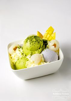 Sublime Gelato | Green Tea | Taro