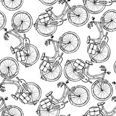 bicycle sketch drawing - Google Search