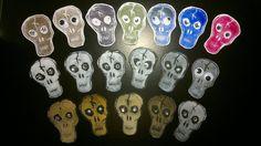 DIY skull stamp / Sådan laver du dine egne stempler DIY kraniestempel