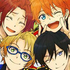 Trickstar | Ensemble Stars! Fanart, Ensemble Stars, Me Me Me Anime, Cute Guys, Manga, Drawings, Illustration, Siblings, Random