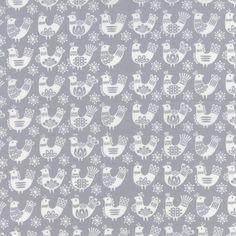 Moda folk art fabric #Plushaddict Sarah's penguin quilt?