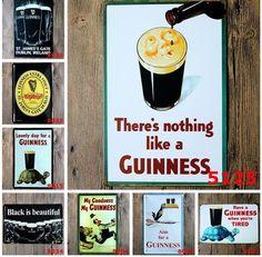 Vintage Metal Poster Pub Wall Decor Tavern Shabby Chic Bar Tin Sign 20X30Cm