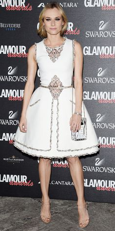 Look of the Day - December 12, 2014 - Diane Kruger in Chanel Couture from #InStyle