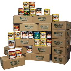 Year Supply of Food - Premium 1600 - http://www.disasternecessities.com/product/FS%20Y610