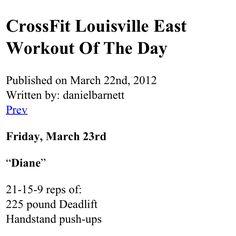 135# deadlift. Time: 10:18 #crossfit