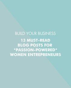 13 must-read blog posts for women entrepreneurs | Betty Red Design
