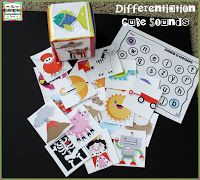 FREE differentiated letter and beginning sound activity! Students recognize letters and sounds!