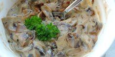 Bruschetta med svampe