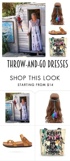"""""""Keep Calm Be A Hippie"""" by mindfulbohemian ❤ liked on Polyvore"""