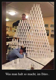 Was man halt so macht, im Büro.. | Lustige Bilder, Sprüche, Witze, echt lustig