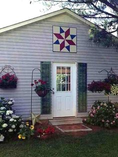 Create a Barn Quilt for Your Garden Shed - Quilting Digest