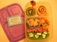 A Happy Bright Lunch for a Cold Day in an Easylunchbox Brights box from Lunches Fit For a Kid