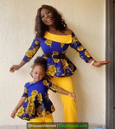 Latest Ankara Dress Styles - Loud In Naija Ankara Styles For Kids, African Dresses For Kids, Trendy Ankara Styles, African Print Dresses, African Prints, Latest Ankara Dresses, Ankara Dress Styles, Ankara Gowns, African Fashion Ankara