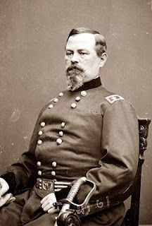 Brigadier General Irvin McDowell who was defeated at First Bull Run / First Manassas died May 4th 1885.