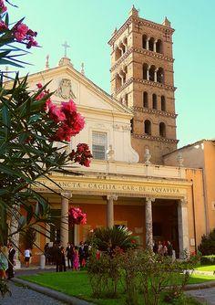 Santa Cecilia in Trastevere ♠ | Flickr - Photo Sharing!