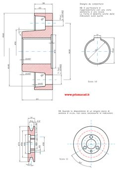semigiunto a puleggia bearing hub assembly and pulley Autocad Isometric Drawing, Youtube Drawing, Working Drawing, 3d Drawings, Mechanical Design, Drawing Practice, Technical Drawing, Pulley, Cnc