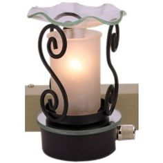 Plug in Oil Warmer Frosted.... love this!  Have them all our bathrooms and classrooms now!