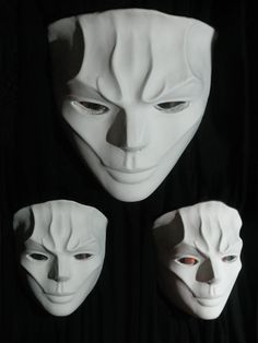 Envy  Original hand sculpted mask by BlakeNight on Etsy
