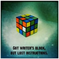 Ugh! Writer's block!?