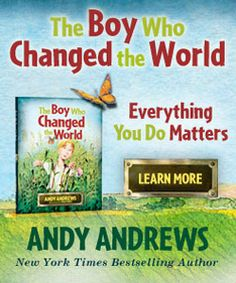 """The boy who changed the world"" by Andy Andrews  Great for kids! he has a curriculum on his website as well to go along with the book. :)"