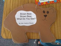 """Brown Bear, Brown bear""- love the color word poems! Preschool Colors, Preschool Themes, Classroom Activities, Craft Activities, Preschool Crafts, Preschool Education, Homemade Books, Color Songs, Beginning Of School"