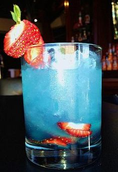 "FIRST Food & Bar Supports the Olympics and ""Team USA"" with Red, White and Blue Cocktail"
