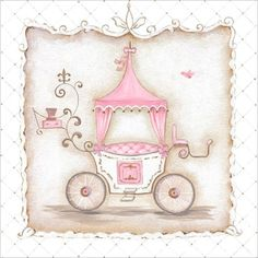 @rosenberryrooms is offering $20 OFF your purchase! Share the news and save!  Little Princess Carriage II Canvas Wall Art #rosenberryrooms