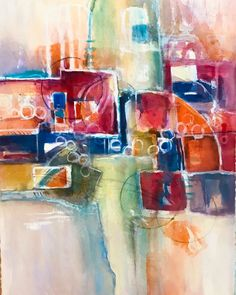Laura Trevey // watercolor artist • abstract paintings for sale
