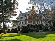 GeorgePerkinsMarshBoyhoodHome_vt :: Marsh-Billings House (1805) – National Historic Landmark by origamidon, via Flickr
