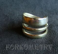 how to make a fork ring