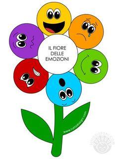 Faccine Delle Emozioni Da Colorare Emocje School Feelings E