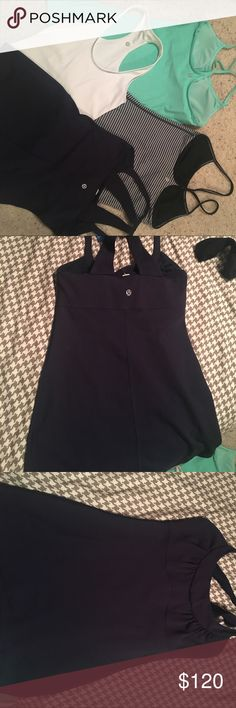 Lululemon tops All excellent condition can be sold separately lululemon athletica Tops Tank Tops