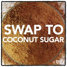 Wanting a healthier alternative to refined sugar? When baking try swapping refined sugar for coconut sugar. It is low in GI, rich in minerals like zinc, magnesium, iron and also contains B Vitamins. #nuzest #NuzestFoodTip #coconutsugar