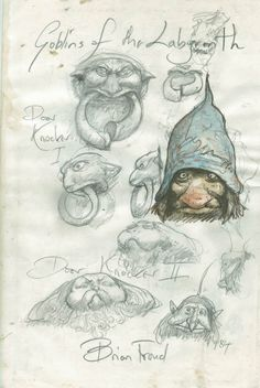 Goblins of Labryinth | Brian Froud