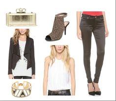 Simple but trendy NYE look
