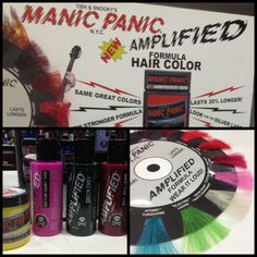 Manic Panic Colours in all 77th Street outlets and on Line www.77thstreet.com