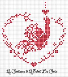 The Comtesse & Le Point De Croix: free patterns