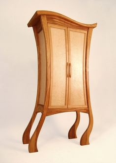 'CHA CHA CHA' A cheeky little chap with good dance moves. This cabinet which can be used for drinks, books, clothes etc is made with cherry and birdseye maple Furniture Design, Birdseye Maple, Inspiration, Timber, Furniture, Home Art, Whimsical Furniture, Bespoke Furniture, Home Decor