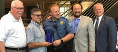 Officer of the Year - Juniper Communities Independent Senior Living, Rotary Club, Bucks County, Perfect Sense, Police Officer, Presidents, Community, Athletic, Athlete