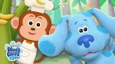 Josh & Blue Skidoo Into the Jungle! | Blue's Big Baking Show | Blue's Cl...